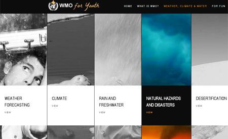 Organização Mundial de Meteorologia quer atrair atenção dos jovens