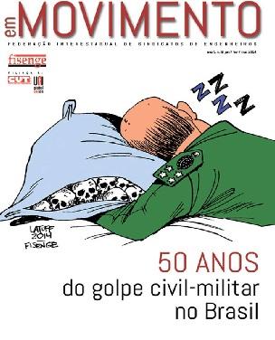 Fisenge lança revista sobre o golpe civil-militar no Brasil