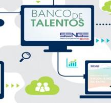 Banco de talentos site
