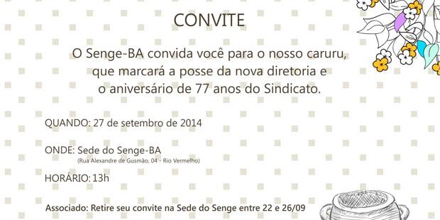 Senge-BA realiza caruru comemorativo