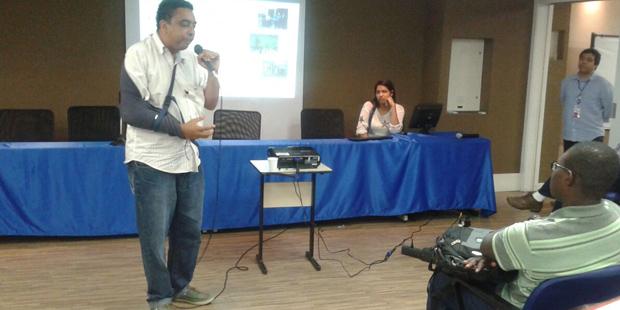 Presidente do Senge-BA faz palestra para alunos da Área 1