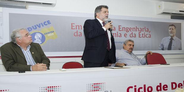 Senge BA apoia engº Henrique Luduvice para presidência do Confea