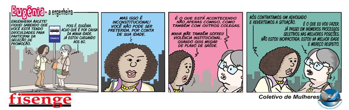 """Série de Quadrinhos da """"Eugênia, a Engenheira"""" vence prêmio Anamatra"""