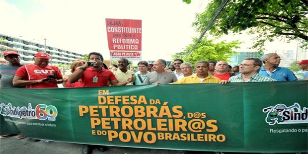 Gabrielli vai à manifestação em defesa da Petrobras em Salvador