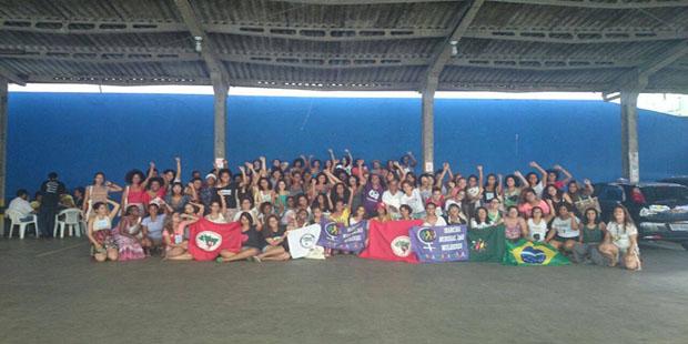II Escola Feminista e Popular Negra Zeferina conta com presença de 200 mulheres