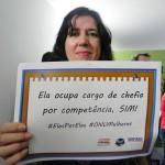 Profª Cláudia Miranda, presidente da Apub Sindicato