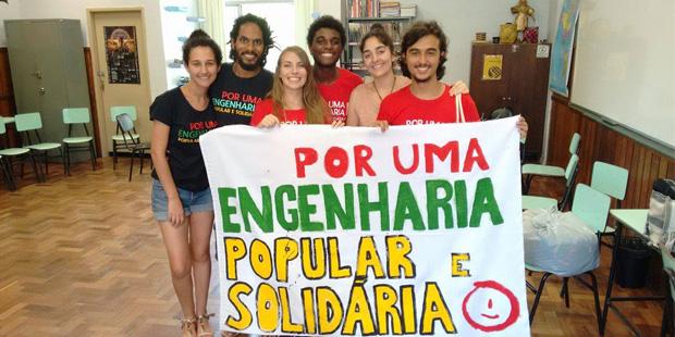 Do ENEDS ao Fórum Social Mundial: ergue-se a bandeira por uma engenharia popular e solidária