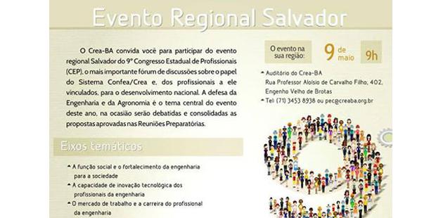 9° Congresso Estadual de Profissionais do Crea-BA