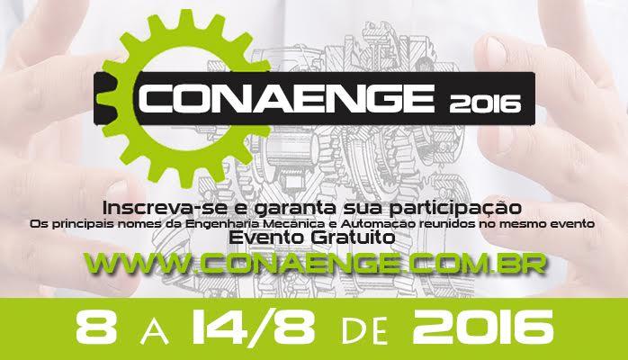 CONAENGE 2016 – 1° Congresso Nacional Online de Engenharia Mecânica e Automação