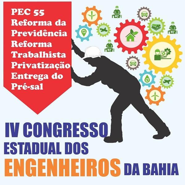 Senge realiza IV Congresso Estadual de Engenheiros