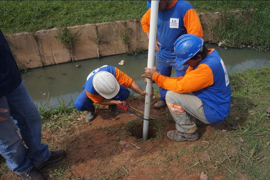 Curso de Monitoramento Ambiental do solo e recursos hídricos