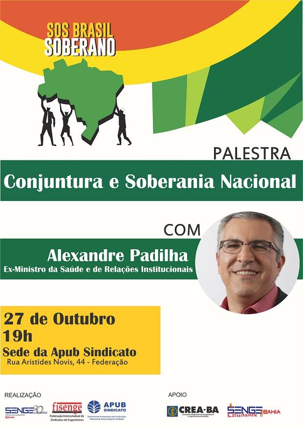 Palestra conjuntura e soberania nacional620