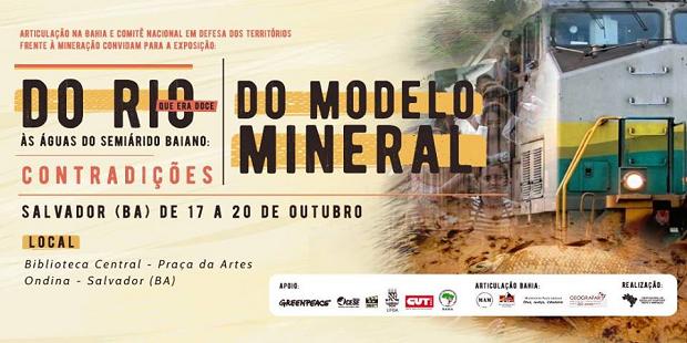 Salvador recebe mostra e ciclo de debates sobre conflitos de mineração
