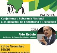 Palestra conjuntura e soberania nacional engenharia tecnologia