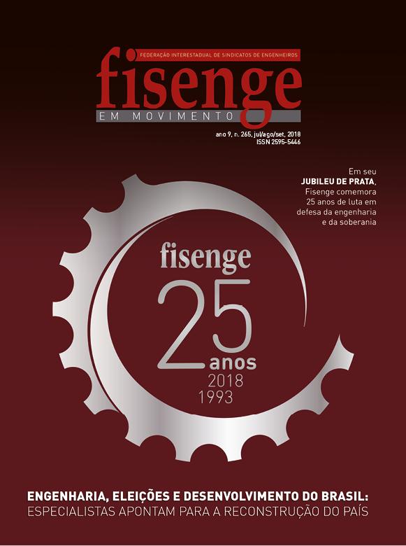 Fisenge lança revista especial sobre os 25 anos de fundação da Federação