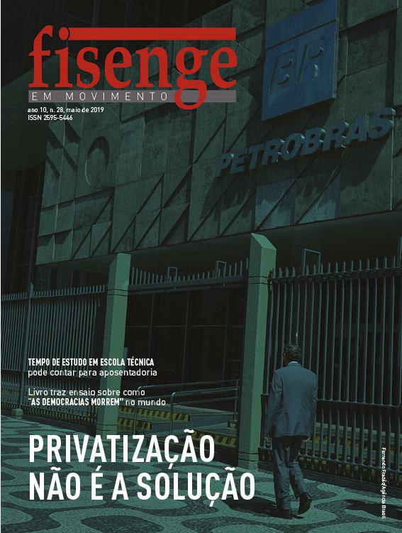 Revista da Fisenge circula em versão digital