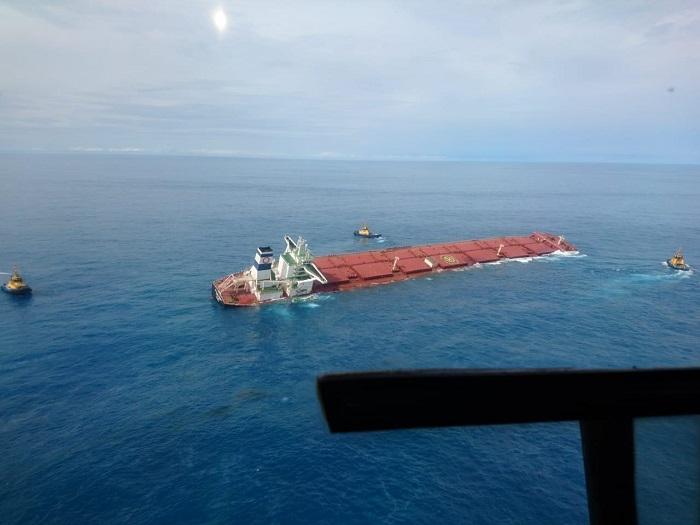 Entidades acionam a Vale na Justiça por naufrágio iminente de navio no Maranhão