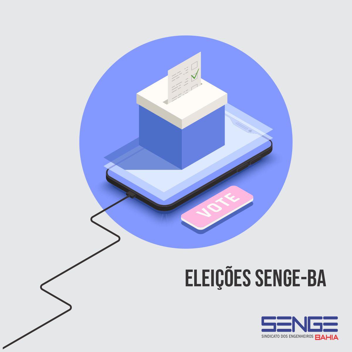 Eleições Senge-BA I Conheça a Chapa inscrita
