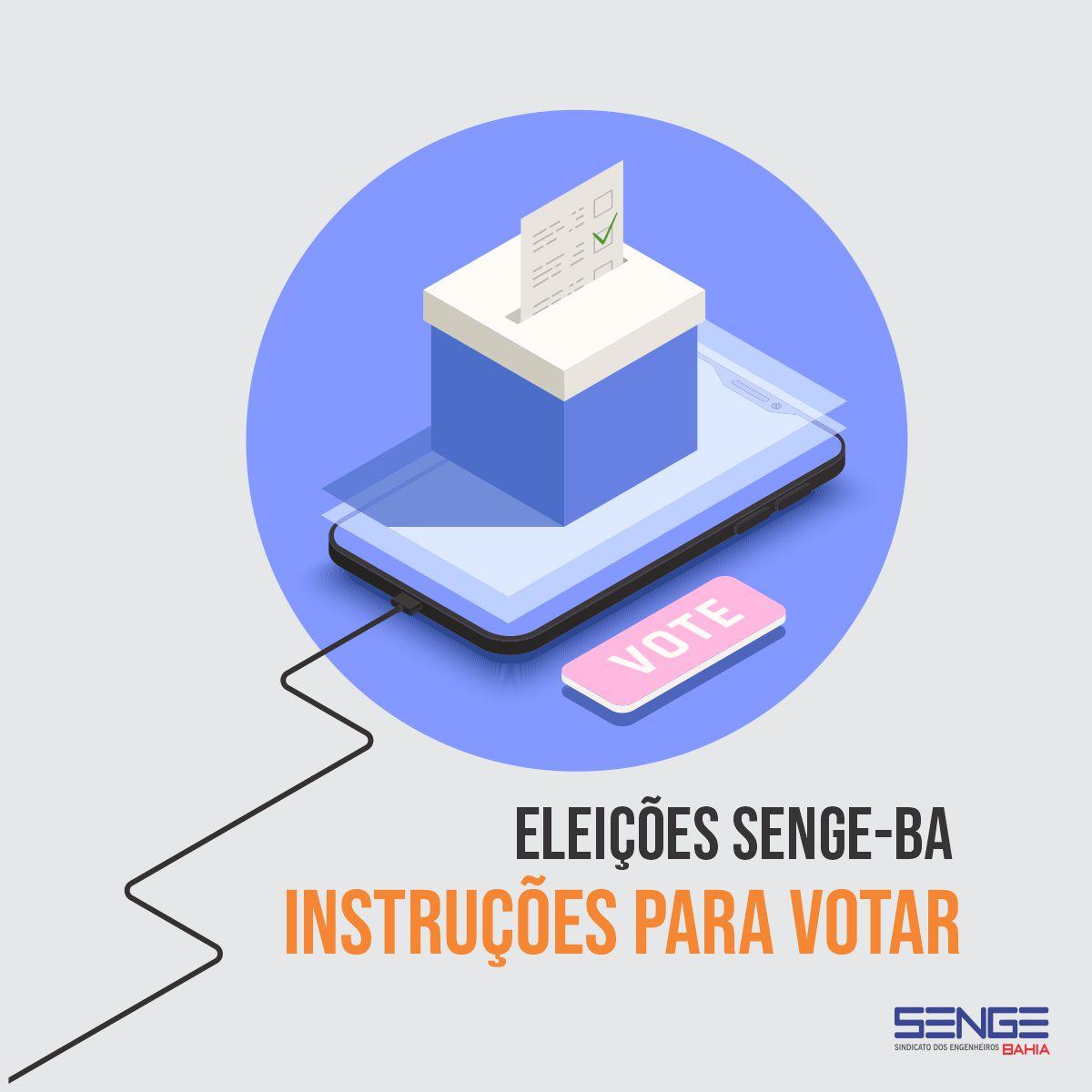 Informe I Processo de Eleição Online do Senge-BA