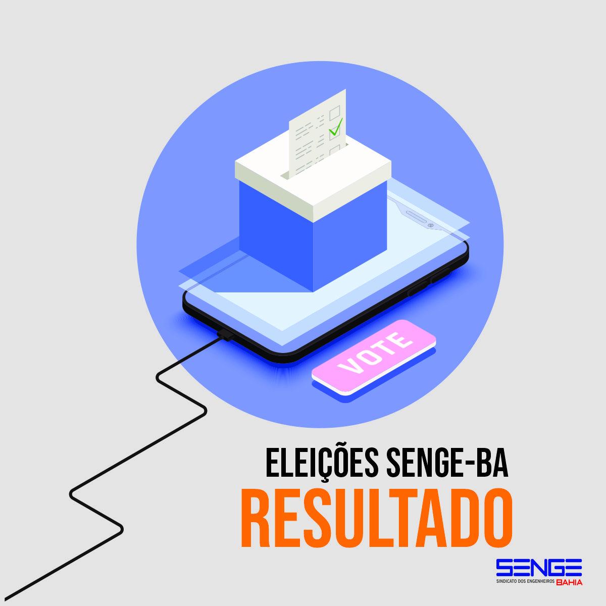 Eleições Senge-BA I Resultados