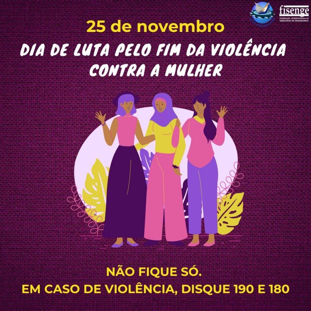 Engenheiras lançam campanha de combate à violência contra a mulher