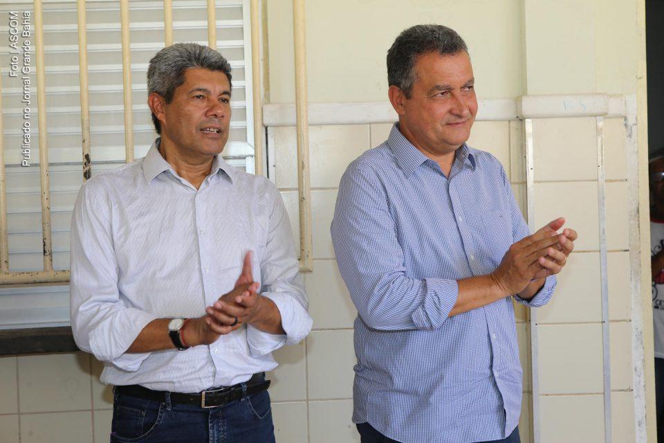 Jerônimo Rodrigues e Rui Costa | Foto: Carol Garcia/GOVBA