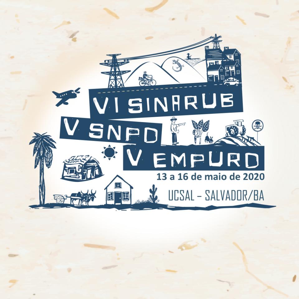 VI Sinarub e V SNPD - Logo